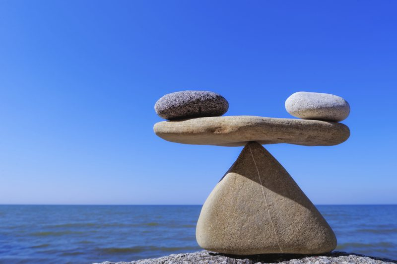 Finding balance is essential