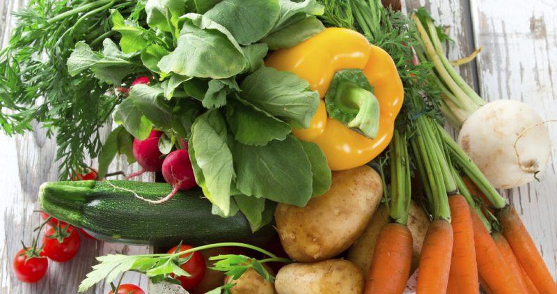 Vegetables high in betacarotene